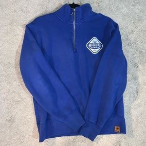 Tops - Muskoka Bear Wear Blur Quarter Zip Sweater